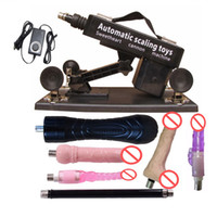 Wholesale China Factory Luxury Automatic Sex Machine Gun Set with Dildo Penis Sex dolls Full Adjustable Masturbation Machine Toys