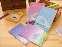 Wholesale 2016 new fashion beautiful South Korean stationery notebook A5 distance star notebook student sports car line diary