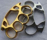 art steel jewelry - Martial arts equipment Knuckles Punch button man steel finger men jewelry