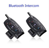 Wholesale M BT Bluetooth Motorcycle Helmet Intercom Interphone Headset with Built in FM Tuner
