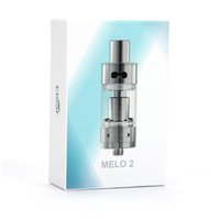Wholesale Ismoka Eleaf Melo Atomizer ml Melo Sub Ohm Tank Airflow Adjustable Clearomizer Best Match iStick W eVic Mini Nebox E_cigarette
