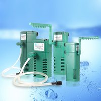 Wholesale 220 V W W W W Optional Portable Aquarium Internal Filter Multi functional Water Filtration Pump for Fish Tank