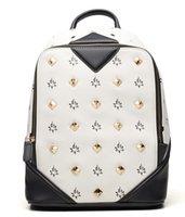 animal rucksacks - Hottest Backpack Unisex Rivets School bags backpacks New Brand large Backpacks Handbags designers Outdoor Rucksack