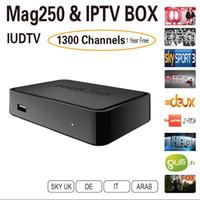 Wholesale Mag IPTV Box year IPTV Subcription Europe IPTV Sky IT DE UK French Portugese Spanish Turkish TV Box USB wifi In Stock