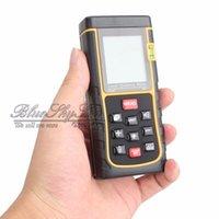 Wholesale m ft Digital Laser Distance Meter Test Range Finder Measure Diastimeter High Quality