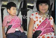 Wholesale 2 children car safety belt adjuster baby auto seatbelt positioner colors M51048