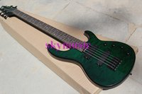 Wholesale New String Electric Bass Guitar Aged Modulus FB Bass Guitar Flea signature Quilted Maple Top FBJ5