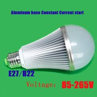 Wholesale LED Bulbs Wide Voltage V Constant Energy Saving Bulb Aluminum Interior Equipped Bright A Small Lamp Beads Bombi LED Lights Lampen