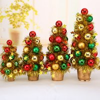 Wholesale Christmas Tree With Matching Colorful Bead Decorations Xmas Tree With Coloured Ball Decoration For Christmas Product Code
