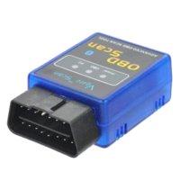 Wholesale EML327 v1 OBD2 OBDII Bluetooth Auto Car Diagnostic Scanner Scan Tool V scan tool code reader