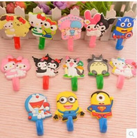 Wholesale Hello Kitty Minions Melody Mini Size Hook Hangers For Bathrooms Wall Hanger Liveing Room