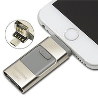 computer memory - Generic Usb stick for Apple Iphone Ipad gb Phone Computer Usb Flash Drive PenDrive Extend SD Memory Card Plug U Disk SL40