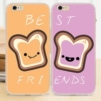apple butter - BFF Peanut Butter Jelly Best Friends Soft Silicone TPU Rubber Cover Case for iPhone S Plus S C S SE
