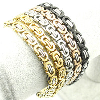bicycle bracelet id - 2016 Classic Design Punk L Stainless Steel Bracelet Special Biker Bicycle Motorcycle Chain For Mens Bracelets amp Bangles LB341