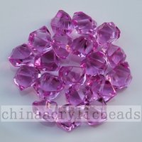 acrylic filler beads - 16 MM Assorted Colors Acrylic Gem Stones For Table Scatter Diamond Vase Fillers Ice Rocks bead