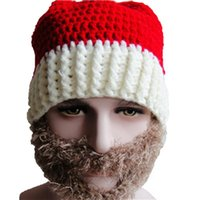 Wholesale New Arrival Beautiful And Cute Christmas Decoration Knitting Cap Warm Ear Christmas Hat for shipping