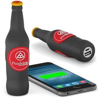 beer bottle bank - Soft pvc power bank mah beer bottle shape power bank charger for outdoor traveling mobile and elcetronic charge