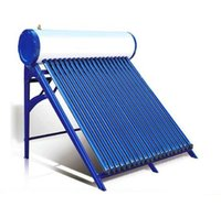 compacto de alta presión calentador de agua caliente solar, 15 tubos de calor colector solar de panel solar sistema de calentamiento de agua