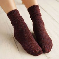 Wholesale henny rue Socks The explosion of new circle yarn Sen female line in autumn and winter cotton socks socks retro pile boots thick socks