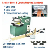 bag cutting machine - V01 leather cutting machine slitting machine leather slitter shoe bags straight paper cutter Vegetable tanned leather slicer