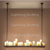 120cm * 31cm 20 LED Hot Candle Holder