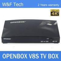 Wholesale Openbox V8S Satellite Receiver S V8 SV8 Support WEBTV Biss Key x USB Slot USB Wifi G Youtube Youporn CCCAMD NEWCAMD