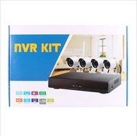 Wholesale HW0047 CCTV System CH P Security Camera P2P Onvif NVR Surveillance Home CCTV Kit