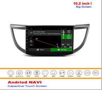 al por mayor sistema de audio integrados-Sistema de navegación de los medios del androide del coche para Honda CRV 2013-2016 - radio del coche dvd Radio Audio Multimedia estéreo (ningún reproductor de DVD)