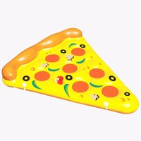 Wholesale 72 inch M Giant Pizza Pool Toy Float inflatable Pizzas swimming float for pool Swim Ring Water Fun Pool Toys