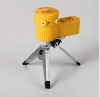 Wholesale 5pcs Multifunction LED laser Levels with tripod measuring equipment leveler device vertical Horizontal line tool