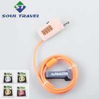 adjustable cable locks - Soul Travel Bicycle Adjustable Cable Locks Steel Wire Anti theft Password Cycling Lockstitch New