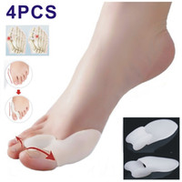 Wholesale Pairs Gel Bunion Toe Spreader Hammer Splint Spacers pad Straightener Foot Alignment Hallux Valgus Guard