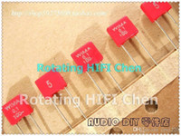 Wholesale hot sale Red Wima MKS2 uF V nF v P5 electronic Components Kit New Audio film Capacitors