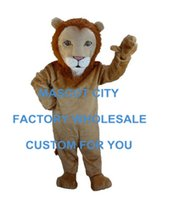 african white lions - African Lion Mascot Costume Adult Size Cartoon Character Animal Theme Carnival Party Cosply Mascotte Mascota SW1024