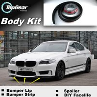 Wholesale Bumper Lip Lips For BMW M5 E28 E34 E39 E60 E61 Front Skirt Deflector Spoiler For Car Tuning The Stig Recommend Body Kit Strip