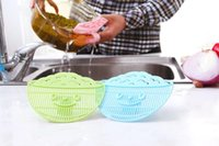Wholesale New Hot Home Kitchen Multifunction Smile Clip on Plastic Rice Cereals Washing Filter Devices Drain Stopper