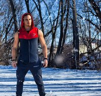 air force hoodies - Top Men s Training Gym muscle Hoodies ASRV air force hoodies slim sleeveless sweatshirts sportgym bodybuilding workout Tracksuit