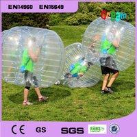 Wholesale m Inflatable Human Hamster Ball Loopy Ball Bubble Football Bumper Ball Boby Zorb Ball