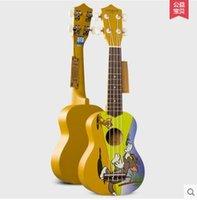 Wholesale Quality Guitar Andrew musical color cartoon Qinyoukeli in inch ukulele ukulele small guitar mini
