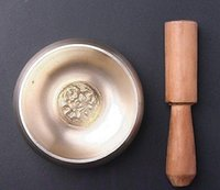 arts tibetan buddhist - cheap Tibetan Buddhist HAKRA HEALING HAMMERED SINGING BOWL inch SOUND vintage