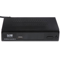 Wholesale HD DVB T2 Digital High Definition TV Set Top Box Video Broadcasting Terrestrial Receiver With IR remote control