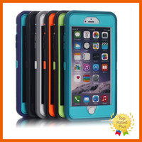 abs metal logo - iPhone Armor Deffender Case Hard Silicone Rubber Protective Cover Cases with Logo Belt Clip Retail Box