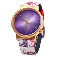 analog dylan - M8295 High Quality Dylan Navy Dial Rose Goldtone Navy Silicone Strap Mens Watch M8295