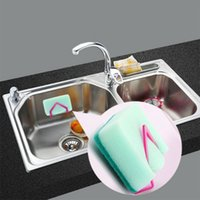 beverage tubs - Colorful Suction Cup Rack Kitchen Sponge Holder Sink Tub Dish Cloth Storage High Quality