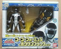 bandai car - Bandai Super Sentai HongHong Sentai Black Ranger and Car super hero action figure