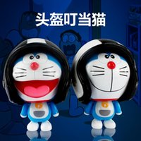 anchor cross stitch - Jingle cat white cat and stitch machine movable helmet jingle pendant cartoon Keychain bags ornaments