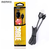 Wholesale Remax Super USB cable steel mesh nickelplate wired core A ft for samsung S7 S7edge iphone6 s
