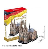 adult puzzles online - Online Cologne Cathedral D Puzzles Toy Hot Building Puzzle Games Gift Toy for Adult Children s Birthday