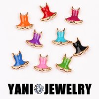alloy swimwear - 8 mm Mix Colors Alloy Sexy Summer Swimwear Floating Locket Charms for Bracelet DIY Living Glass Locket Necklaces