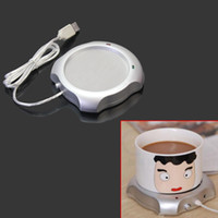 Wholesale Factory price Office House Use USB Powered On Off Switch Tea Coffee Milk Cup Warmer Heater Pad